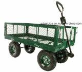 Carro profissional novo da jarda e de jardim do polegar verde