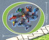 De grote OpenluchtSpeelplaats van de Dia van de Combinatie Playsets hd-009A