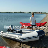 Liya 2m-6m kundenspezifisches Belüftung-aufblasbares Boot mit Motor