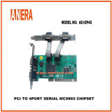 PCI 4 puertos serie MC9865 Chipset