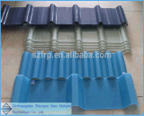 ガラス繊維の屋根ふきシートのガラス繊維強化プラスチックシートの波形のガラス繊維の屋根は透過ガラス繊維のパネルの透過ガラス繊維シートにパネルをはめる