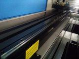 Máquina de estaca do laser da esponja do couro de sapata Jq1490 com o trilho da guilda da elevada precisão