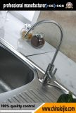 Robinet de cuisine Pot en acier inoxydable avec robinet à rotation 360 degrés