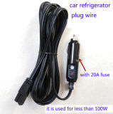 12V/24V Car Cigarette Lighter mit Gleichstrom Power Wire für Car Refrigerator