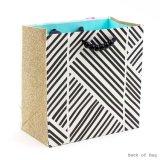 Bolso hermoso del regalo, bolso de papel del regalo, bolso del regalo del papel de arte, bolsa de papel que hace compras, bolsa de papel de Kraft