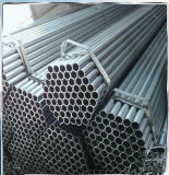 lo zinco 1.5inch ha ricoperto il tubo d'acciaio galvanizzato BS1387 per il blocco per grafici della serra