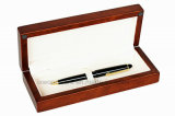 Penna di legno di rivestimento del Brown Matt che impacca il contenitore di regalo di Collecton