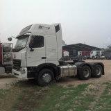 ヨーロッパのタイプ420HP 6X4の重いトレーラトラックのA7のトラクターのトラック