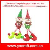 Décoration de Noël (ZY14Y517-1-2) sac de cadeaux de fête de Noël Elf Lutin de Noël Décoration