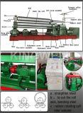 판매 (W11-6X3200)를 위한 유압 격판덮개 3 롤러 회전 기계