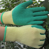 Guanto del lavoro dei guanti della Rosa del giardino dei guanti del lattice ricoperto palma