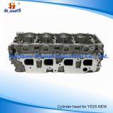 日産Yd25新しい908510 11040-Eb30A 11039-Ec00Aのためのエンジンのシリンダーヘッド