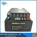 Ökonomischer Typ 4 Auto bewegliches DVR Kanal GPS-WiFi 3G 4G HD