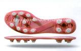 O futebol quente de Outsole do futebol calç a sola