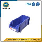 Het stapelen van het Werk van de Bakken van de Opslag van het Plastic Materiaal met het Opschorten en het Rek van de Draad (PK003)