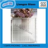 Het vierkante Decoratieve Glas van de Kunst van de Tekening met Berijpt