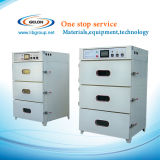 기계 (GN-VO-3)를 만드는 건전지를 위한 자동적인 진공 건조용 오븐 3개의 층