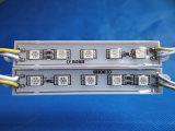 IP65 impermeabilizan el módulo de 5050 SMD LED para la iluminación