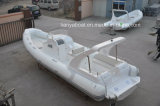 Chine Liya 8.3m FRP OEM Rib Boat Central Console Yacht