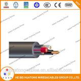 UL509 3 núcleo 14AWG  com cabo distribuidor de corrente de 3 fios à terra e cabo pendente do barramento portátil do cabo