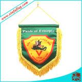 Anunciando a bandeira da estamenha/flâmulas internas/Bannerettes