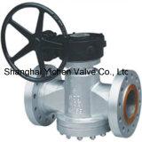 Válvula de compensação de pressão invertida da caixa de velocidades Válvula de ficha lubrificada com flange (AX47W)