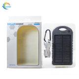antipoussière antichoc imperméable à l'eau de côté portatif de l'énergie 5000mAh solaire