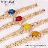 74992 Xuping diseños de joyería de oro con imán Precio Opal Pulsera Reloj de oro