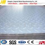 Lamiera di acciaio Chequered laminata a caldo del piatto d'acciaio del diamante di prezzi di fabbrica S355j2/Q345D