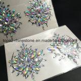 2018 мелочь Блестящие цветные лаки кожи глаз на наклейке клей акриловый Gem Crystal Diamond наклейки для защиты грудной клетки (E09)