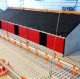 Strumentazione di pollicultura del pollo di EC con il pavimento di plastica della stecca per i polli da arrosto