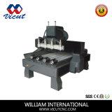 Router giratório múltiplo do CNC do Woodworking (movimento do pórtico)