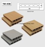 E sólidos de madeira oco deck composto de plástico para piscina WPC Plank