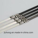 Cinta plástica resistente do aço inoxidável de 8 polegadas
