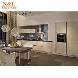 Module de cuisine en bois de laque à haute brillance à la maison moderne de meubles