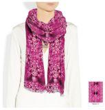 女性のための佐倉パターン100%絹のスカーフ