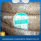 G. I fil obligatoire 20# 1kg/Coil, fil galvanisé Bwg20