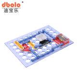 Blocs de construction en plastique coloré des blocs de construction électronique