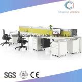 6 Werkstation cas-W1820 van het Bureau van het Frame van het Metaal van de Verdeling van de persoon het Gele