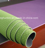 Os tapetes de Yoga TPE fábrica Grosso Tapete Ginástica Exercício Antiderrapagem