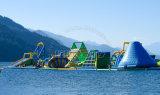 Kundenspezifisches aufblasbares Wasser spielt Spiel-aufblasbaren sich hin- und herbewegenden Wasser-Freizeitpark