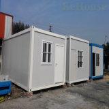 Ensamblado fácil contenedor de 20 pies de la casa para vivir edificio de oficinas/Estructura de acero prefabricados modulares Casa contenedor