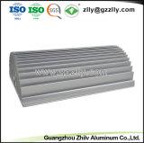 Los materiales de construcción del radiador de aluminio extrusionado Comb-Shape