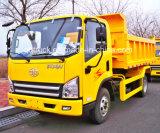 Tigre claro do caminhão de descarga V, 4 toneladas de caminhão de tipper, 4 toneladas de descarregador, caminhão de descarga de 4tons FAW