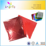 Красный цвет печати Waraping целлофана для