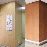 고밀도 Water-Resistant 페놀 HPL 나무로 되는 색깔 벽면