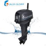 Calon Gloria barco motor 2 Stroke 15 CV motor fuera de borda Inicio Manual de Alta Calidad eficiente motor