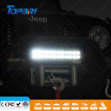 Cheap double rangée de véhicule d'urgence 72W incurvée Barre d'éclairage à LED