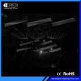 P56.25mmの高い明るさフルカラーSMD LEDのビデオカーテン