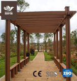 Le bois composite en plastique durable Outdoor Pergola